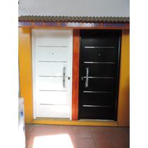 Puerta Inyectada Pintura Horno 80x200 Libre Mantenimiento!!