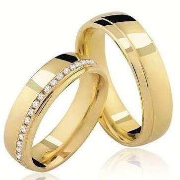 1c126cab8b4 Par De Alianças Casamento Noivado Ouro 16k 7grs Frete Grátis - R  920