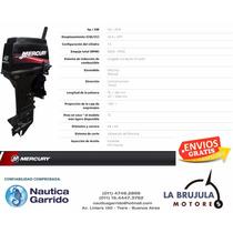 Mercury 40 Hp Elo Super Nautica Garrido - La Brujula Motores