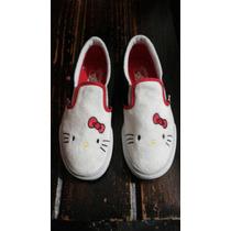 Zapatillas Panchas Vans Hello Kitty