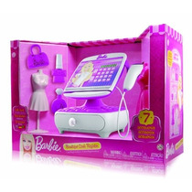 Barbie Boutique Cash Register Registradora Scaner Accesorios