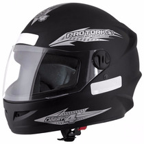 Capacete Motociclista Pro Tork New Liberty 4 Preto Fosco