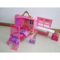 Casa Barbie Escuela De Princesas Como Nueva Con Accesorios!