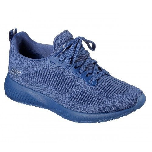 c22c9db4f60a1 Tenis Skechers Nvy Bobs Squad Azul Mujer Original 31362nvy -   1