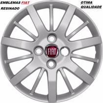 Calotas Aro 14 ( 04 Pçs ) Fiat Siena, Palio / Originais Grid