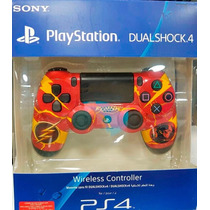 Dualshock 4 Controle Wireless Personalizado - Flash