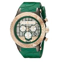 Reloj Mulco Acero Silicón Verde Unisex Mw52331473
