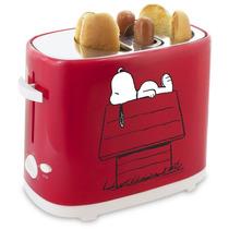 Maquina Tostadora Para Hacer Hot Dogs Snoopy Dog Ajustable