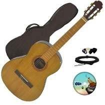 Guitarra Electro Criolla Acustica Funda Cable Curso Pua