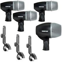 Kit De Microfonos Para Bateria Shure Pgdmk4