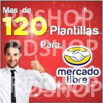 Plantillas Mercadolibre Ml Editables + Tutoriales + Hosting
