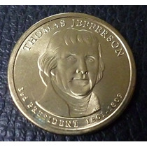 Usa Moneda President 3th Thomas Jefferson ( D ) 1 Dolar 2007