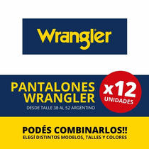 Jean Wrangler Montana - Solo Por Docena!!!