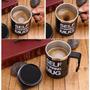 Caneca Inox Misturadora Automática Mixer Mug Milk Shake