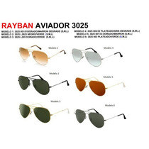 Anteojos Rayban Aviator Rb 3025 Rb 3026 Originales 50% Off