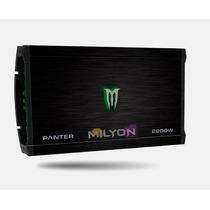 Potencia Monster Panter 2200w X-550.4 Amplificador 4 Canales