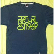 Exclusivo Polo Rip Curl L Importado Excelente Cond. 9/1