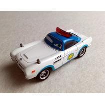 Disney Cars 2 Security Finn Mc Missile Original Mattel Loose