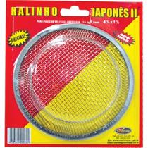 Ralo 2 P/ Tanque/lavatorio/pia Japonês Grande Aço Inox
