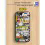 Carcasa Sticker Bomb Iphone Samsung Motorola Lg Sony Case