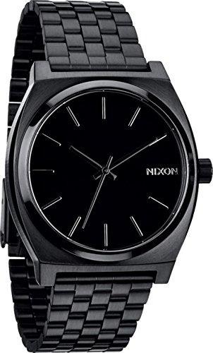 ad2f5b06d26f Nuevo Reloj Nixon Time Teller Todo Negro -   483.777 en Mercado Libre