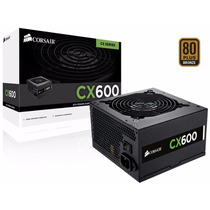 Fonte Corsair Cx600 600w 80plus Bronze Cp-9020048-ww