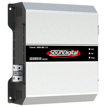 Modulo Soundigital 3000wrms Sd3000.1d Amplificador Digital