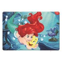Placa Para Pastel Grande De Pvc Ariel Y Flanders