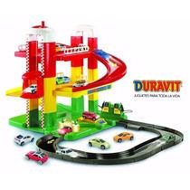 Estación De Servicio Duravit 2 Rampas Con Elevador Y Garage