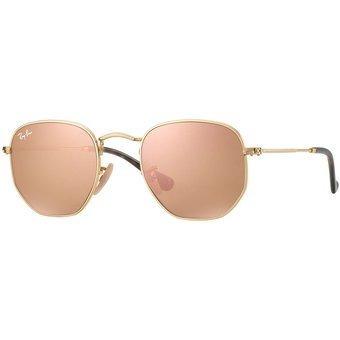 Óculos Ray Ban Hexagonal 3548 Original Tam 51 E 54 + Brinde - R  249,00 em Mercado  Livre 6aa610f6e2