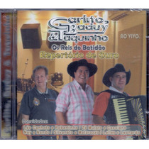 Cd Carlito, Baduy & Taquinho - Repertório De Ouro Ao Vivo
