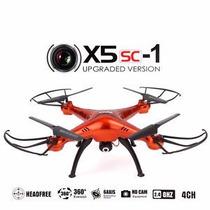 Drone Syma X5sc Dron X5sc-1 Nueva Version 2mpx Rojo