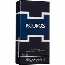 Perfume Kouros Yves Saint 100m Edt Original Frete Grátis
