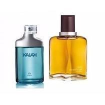 Kit Natura Masculino Perfume Essencial 50ml + Kaiak 25ml