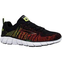 Zapatos Ionic Rs21 Para Caballero (negro/naranja)