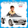 Auto A Bateria Audi Kiddy Con Control Remoto,mp3 Y Radio Fm.