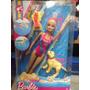 Barbie Con Perro Nadadores Original Matel