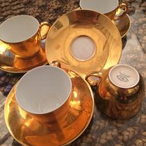 Juego Tazas De Café Porcelana Inglesa Worcester Imperdibles!