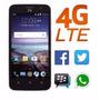 Telefono Zte Maven Android 5.1 4g Lte Liberado Quad Core 8gb