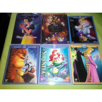 La Bella Y La Bestia, Frozen, La Cenicienta, La Sirenita