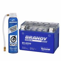 Bateria Cbr 900r/rr 93 A 99 Gel Brandy By-gtx9 + Rep