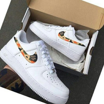 Nike Air Force One Dama Y Caballero