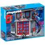 Estación De Rescate De Bomberos Playmobil Envío Gratis