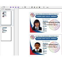 Programa Impresion De Credenciales Pvc Injeccion De Tinta