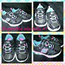 Zapatos Skecher Para Niña Talla 21 Nuevos