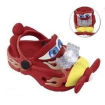 Calçado Infantil Babuche Plugt Meninos Avioes Disney!