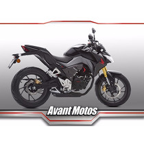 Honda Cb 190 R 2016 0km Avant Motos Negra Roja Disponible