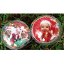 Bolas De Natal Personalizadas - Kit Com 30 - 2,50 Cada