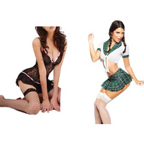 Nuevos Modelos Lenceria Super Sexy Tangas Baby Dolls Disfraz
