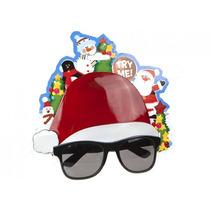 Gafas De Navidad - La Novedad Del Sombrero De Santa Padre Ve